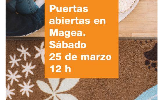 Jornada de Puertas Abiertas 2017/2018 en Magea